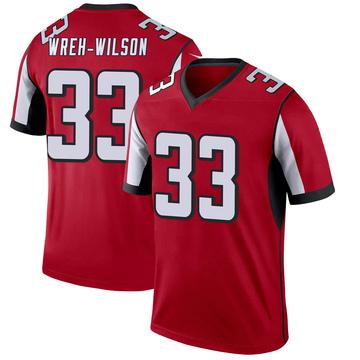Youth Nike Atlanta Falcons Blidi Wreh-Wilson Red Jersey - Legend