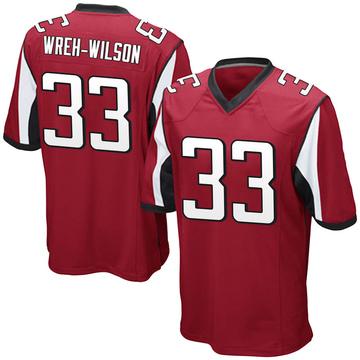 Youth Nike Atlanta Falcons Blidi Wreh-Wilson Red Team Color Jersey - Game