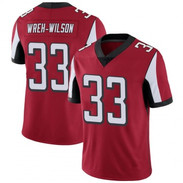 Youth Nike Atlanta Falcons Blidi Wreh-Wilson Red Team Color Vapor Untouchable Jersey - Limited