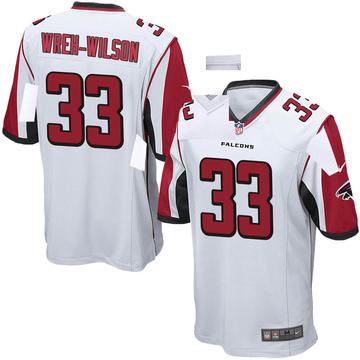 Youth Nike Atlanta Falcons Blidi Wreh-Wilson White Jersey - Game