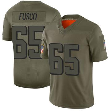 Youth Nike Atlanta Falcons Brandon Fusco Camo 2019 Salute to Service Jersey - Limited