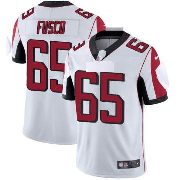Youth Nike Atlanta Falcons Brandon Fusco White Vapor Untouchable Jersey - Limited