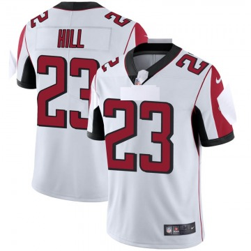Youth Nike Atlanta Falcons Brian Hill White Vapor Untouchable Jersey - Limited