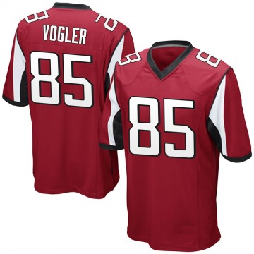 Youth Nike Atlanta Falcons Brian Vogler Red Team Color Jersey - Game