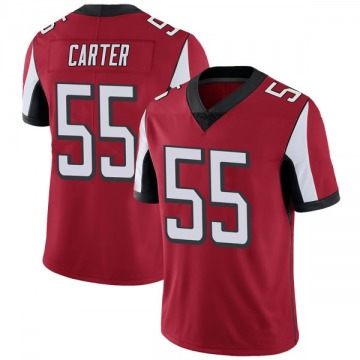 Youth Nike Atlanta Falcons Bruce Carter Red Team Color Vapor Untouchable Jersey - Limited