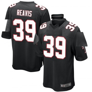 Youth Nike Atlanta Falcons C.J. Reavis Black Alternate Jersey - Game