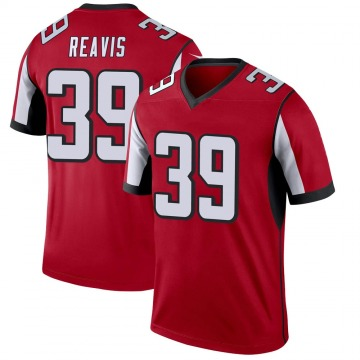 Youth Nike Atlanta Falcons C.J. Reavis Red Jersey - Legend