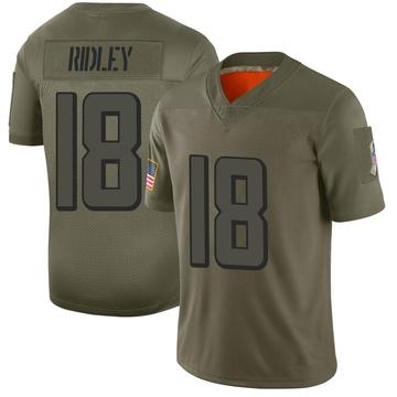Youth Nike Atlanta Falcons Calvin Ridley Camo 2019 Salute to Service Jersey - Limited