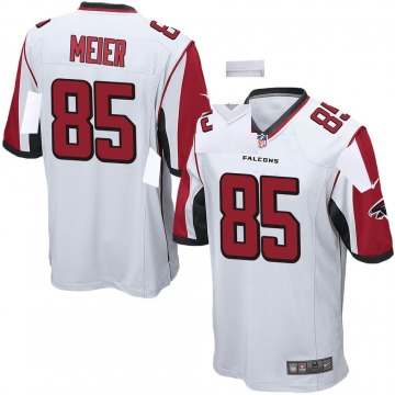 Youth Nike Atlanta Falcons Carson Meier White Jersey - Game