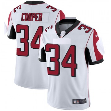 Youth Nike Atlanta Falcons Chris Cooper White Vapor Untouchable Jersey - Limited