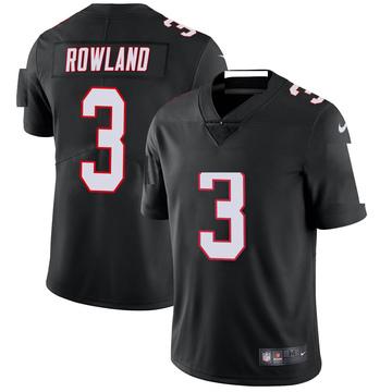 Youth Nike Atlanta Falcons Chris Rowland Black Vapor Untouchable Jersey - Limited