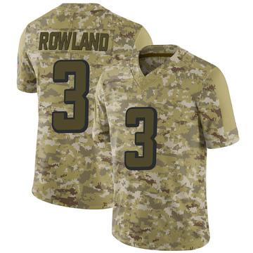 Youth Nike Atlanta Falcons Chris Rowland Camo 2018 Salute to Service Jersey - Limited