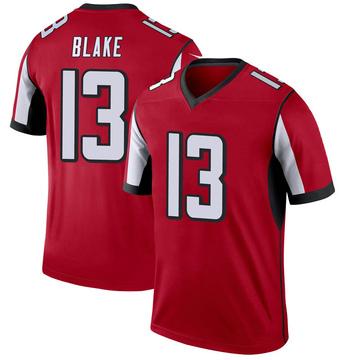 Youth Nike Atlanta Falcons Christian Blake Red Jersey - Legend