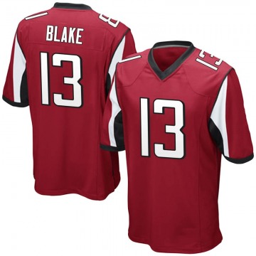 Youth Nike Atlanta Falcons Christian Blake Red Team Color Jersey - Game