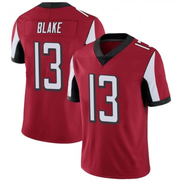 Youth Nike Atlanta Falcons Christian Blake Red Team Color Vapor Untouchable Jersey - Limited