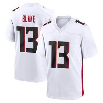 Youth Nike Atlanta Falcons Christian Blake White Jersey - Game
