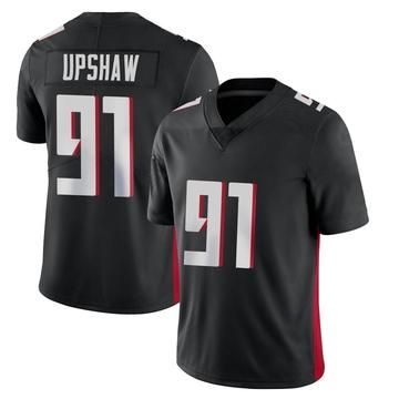 Youth Nike Atlanta Falcons Courtney Upshaw Black Vapor Untouchable Jersey - Limited