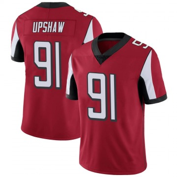 Youth Nike Atlanta Falcons Courtney Upshaw Red Team Color Vapor Untouchable Jersey - Limited