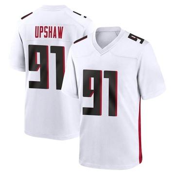 Youth Nike Atlanta Falcons Courtney Upshaw White Jersey - Game
