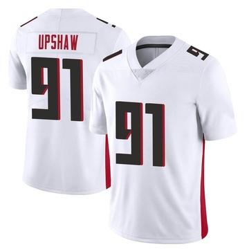 Youth Nike Atlanta Falcons Courtney Upshaw White Vapor Untouchable Jersey - Limited