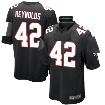 Youth Nike Atlanta Falcons Craig Reynolds Black Alternate Jersey - Game