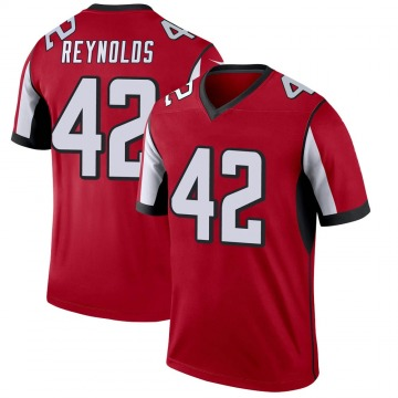 Youth Nike Atlanta Falcons Craig Reynolds Red Jersey - Legend