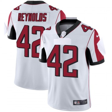 Youth Nike Atlanta Falcons Craig Reynolds White Vapor Untouchable Jersey - Limited