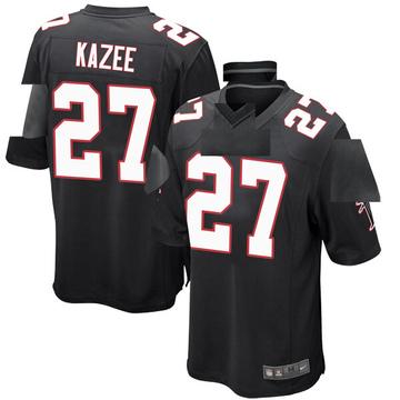 Youth Nike Atlanta Falcons Damontae Kazee Black Alternate Jersey - Game