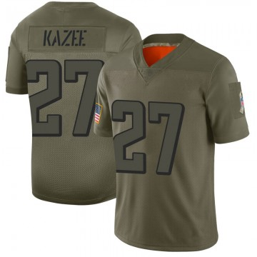 Youth Nike Atlanta Falcons Damontae Kazee Camo 2019 Salute to Service Jersey - Limited