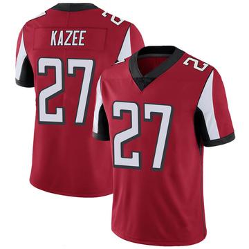 Youth Nike Atlanta Falcons Damontae Kazee Red 100th Vapor Jersey - Limited