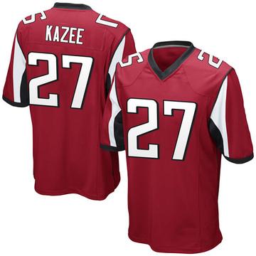Youth Nike Atlanta Falcons Damontae Kazee Red Team Color Jersey - Game