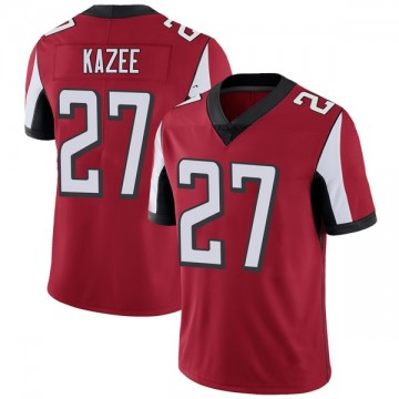 Youth Nike Atlanta Falcons Damontae Kazee Red Team Color Vapor Untouchable Jersey - Limited