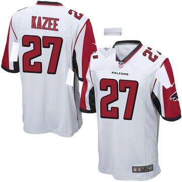 Youth Nike Atlanta Falcons Damontae Kazee White Jersey - Game