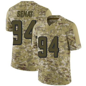 Youth Nike Atlanta Falcons Deadrin Senat Camo 2018 Salute to Service Jersey - Limited