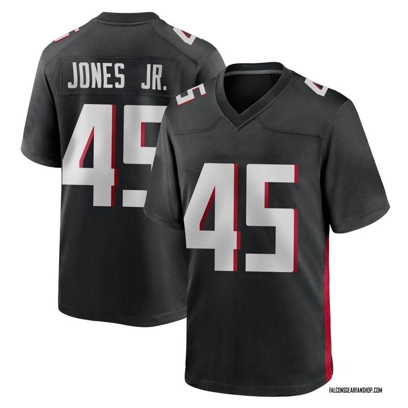 Youth Nike Atlanta Falcons Deion Jones Black Alternate Jersey - Game