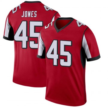 Youth Nike Atlanta Falcons Deion Jones Red Jersey - Legend