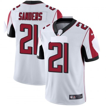 Youth Nike Atlanta Falcons Deion Sanders White Vapor Untouchable Jersey - Limited
