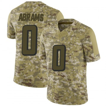 Youth Nike Atlanta Falcons Delrick Abrams Camo 2018 Salute to Service Jersey - Limited
