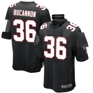 Youth Nike Atlanta Falcons Deone Bucannon Black Alternate Jersey - Game