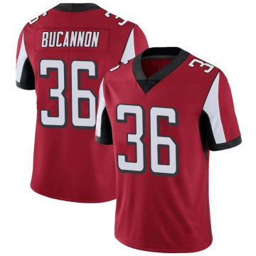 Youth Nike Atlanta Falcons Deone Bucannon Red 100th Vapor Jersey - Limited