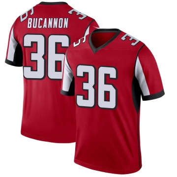 Youth Nike Atlanta Falcons Deone Bucannon Red Jersey - Legend