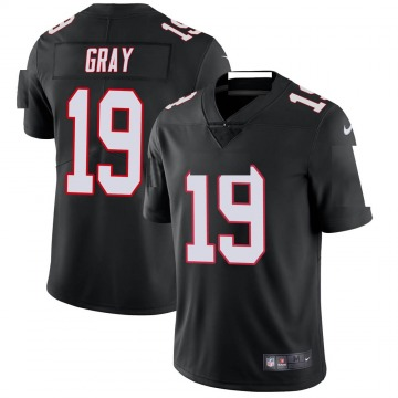 Youth Nike Atlanta Falcons Devin Gray Black Vapor Untouchable Jersey - Limited