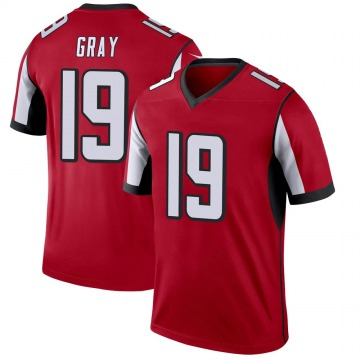 Youth Nike Atlanta Falcons Devin Gray Red Jersey - Legend