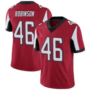 Youth Nike Atlanta Falcons Edmond Robinson Red 100th Vapor Jersey - Limited