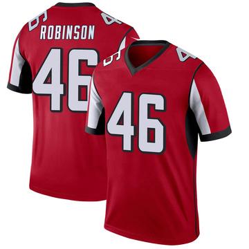 Youth Nike Atlanta Falcons Edmond Robinson Red Jersey - Legend