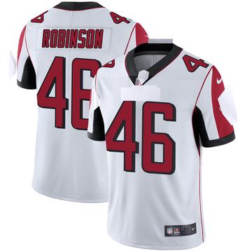 Youth Nike Atlanta Falcons Edmond Robinson White Vapor Untouchable Jersey - Limited