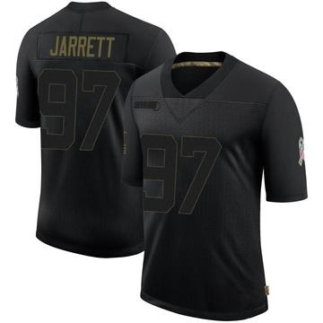 Youth Nike Atlanta Falcons Grady Jarrett Black 2020 Salute To Service Jersey - Limited