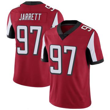 Youth Nike Atlanta Falcons Grady Jarrett Red 100th Vapor Jersey - Limited