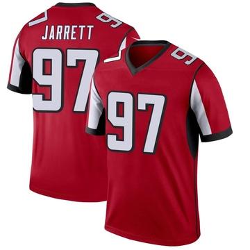 Youth Nike Atlanta Falcons Grady Jarrett Red Jersey - Legend