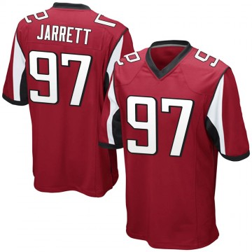Youth Nike Atlanta Falcons Grady Jarrett Red Team Color Jersey - Game
